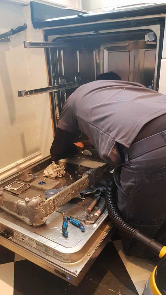 dishwasher repair and cleaning