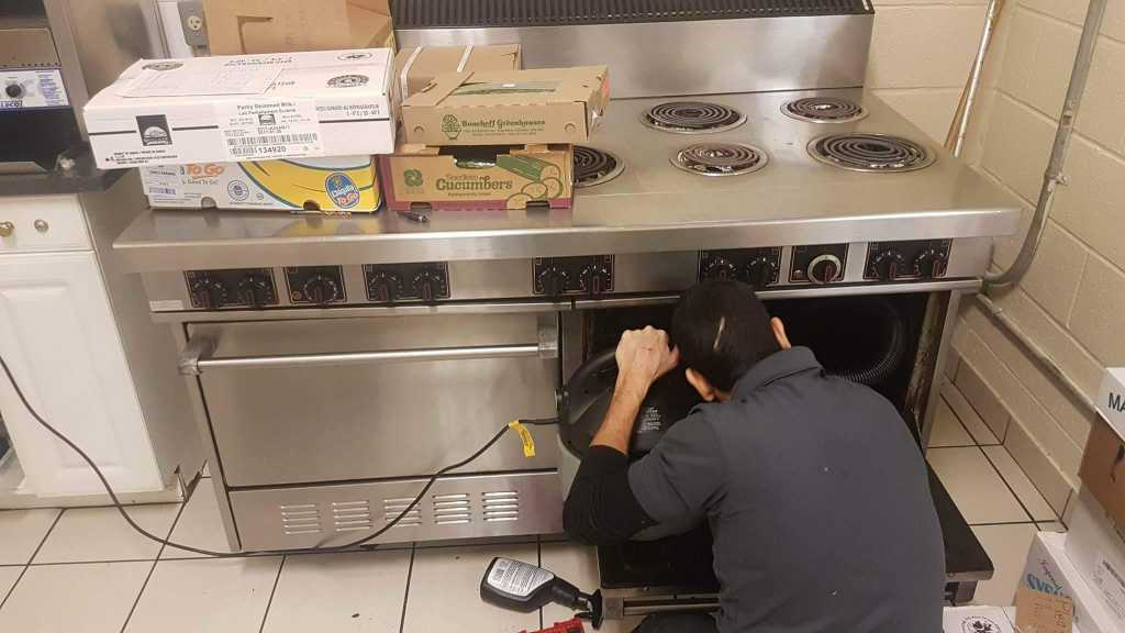 restaurant stove repair