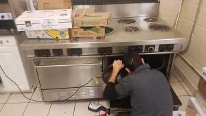 restaurant stove repair Woodbridge