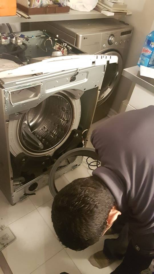Washer Repair process