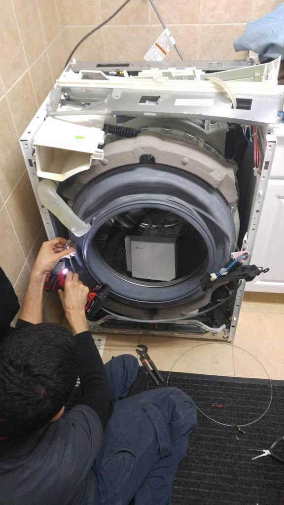 washer repaired by ifix technician