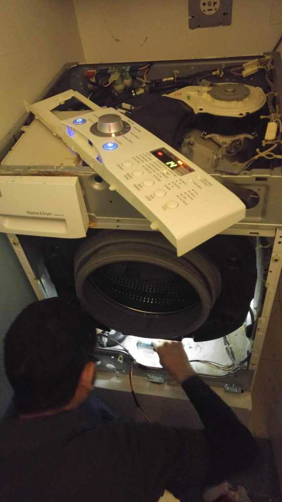 Washing Machine Interior Inspection - Ge Appliance Repair