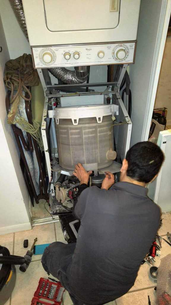 washer repair drum installation