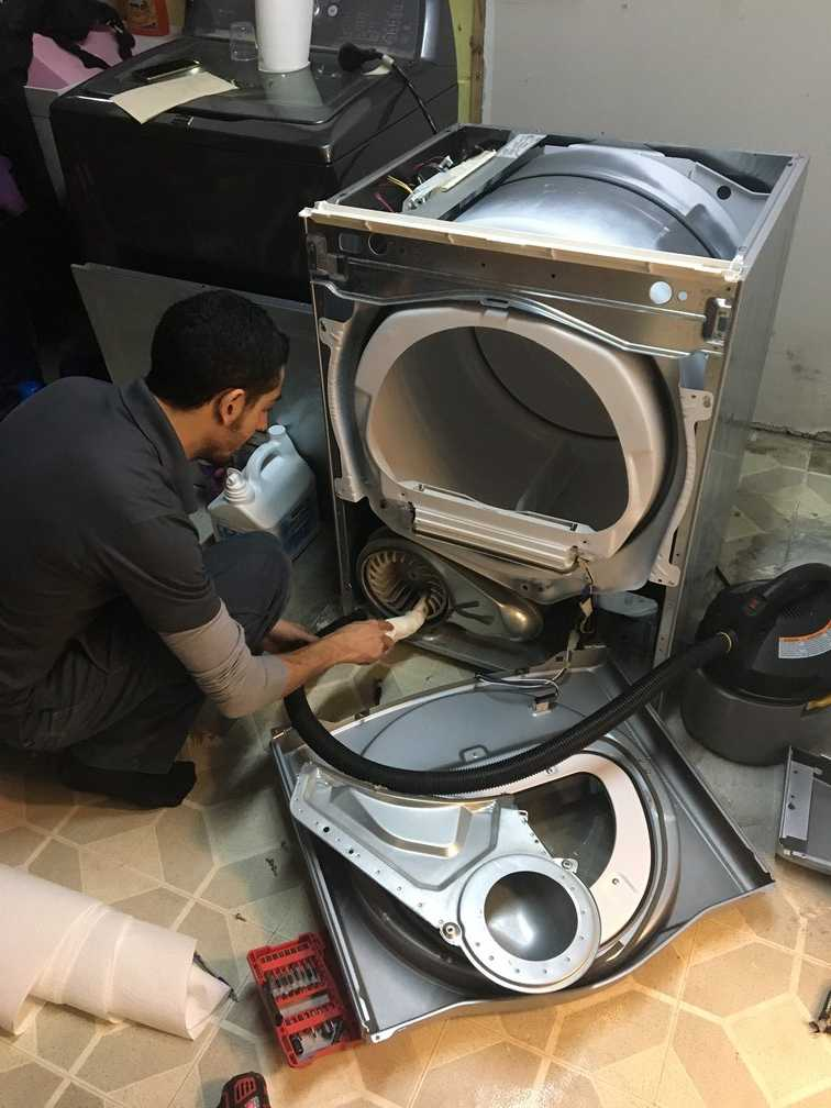 image dryer lint cleaning